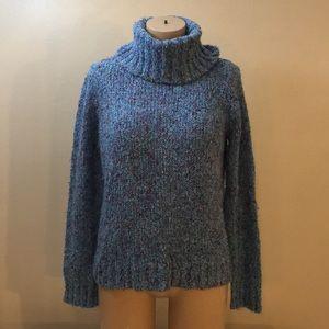 Designer Blue Gypsy Mermaid Soft Knit Sweater
